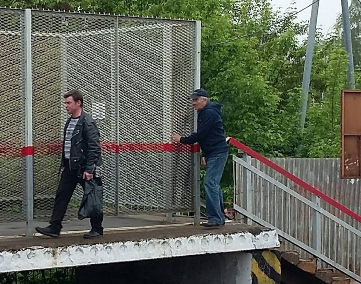 Жалоба-отзыв: РЖД - Платформа Лианозово.  Фото №1