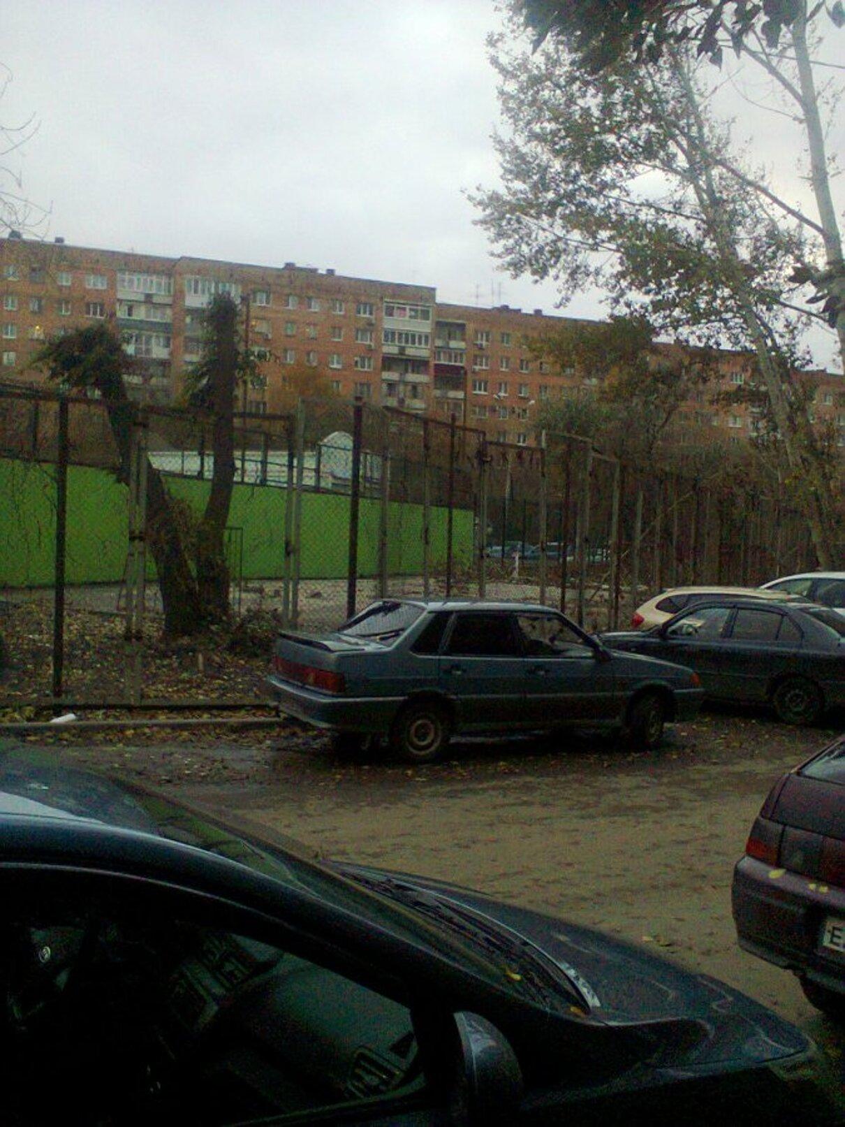 Жалоба-отзыв: ДЮСШ №1 Самара - Ползучий захват общественной земли в Самаре.  Фото №2