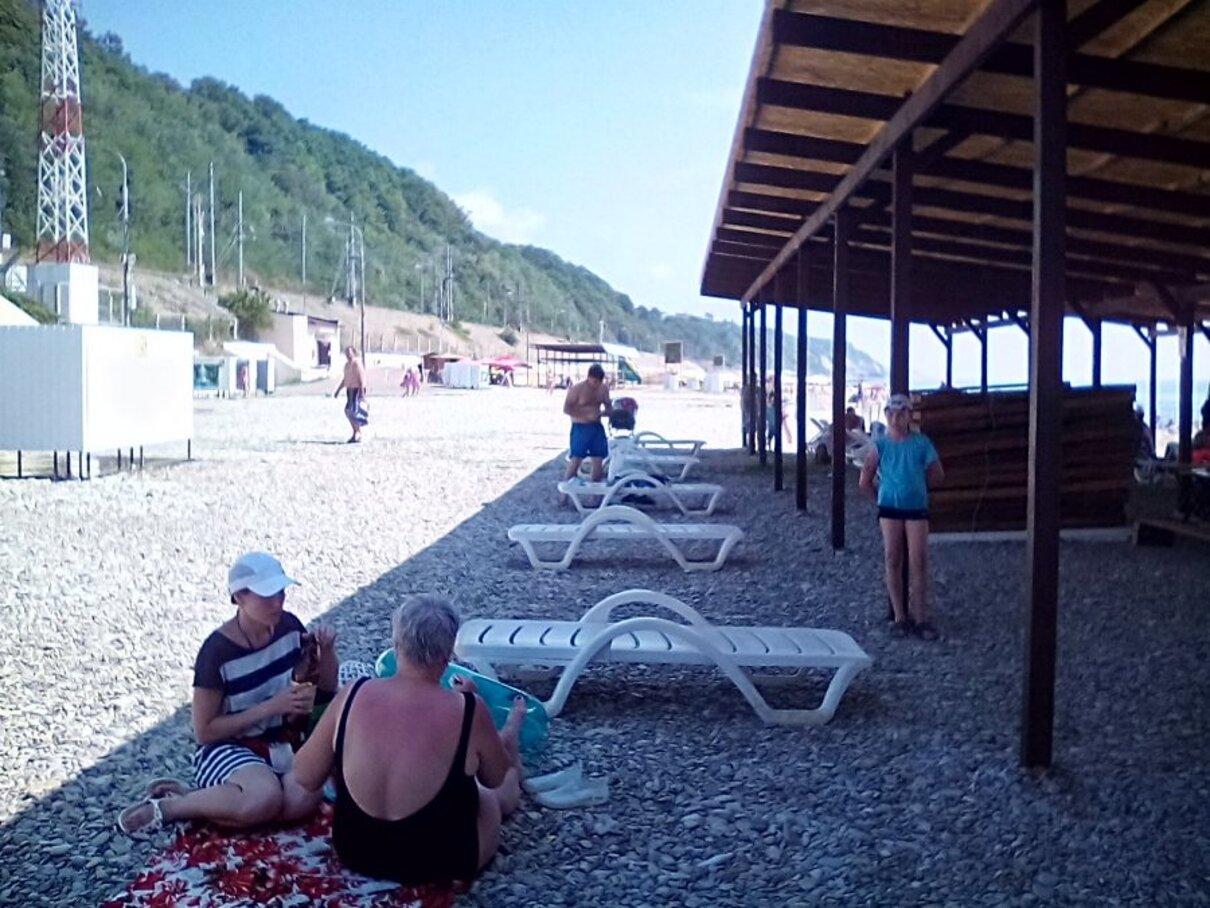 Жалоба-отзыв: Администратор лежаков на городском пляже г - Сколько стоит тень на городском пляже?.  Фото №3