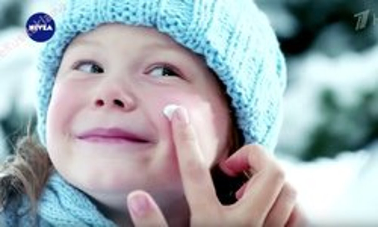 """Жалоба-отзыв: Реклама """"Поделись нежностью"""" Нивея - Зачем учат мазать кремом на морозе???.  Фото №1"""