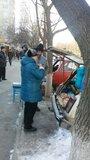 Жалоба-отзыв: Продавцы мяса на тротуарах и вдоль дорог - Беспредел в г. Волгодонске.  Фото №1