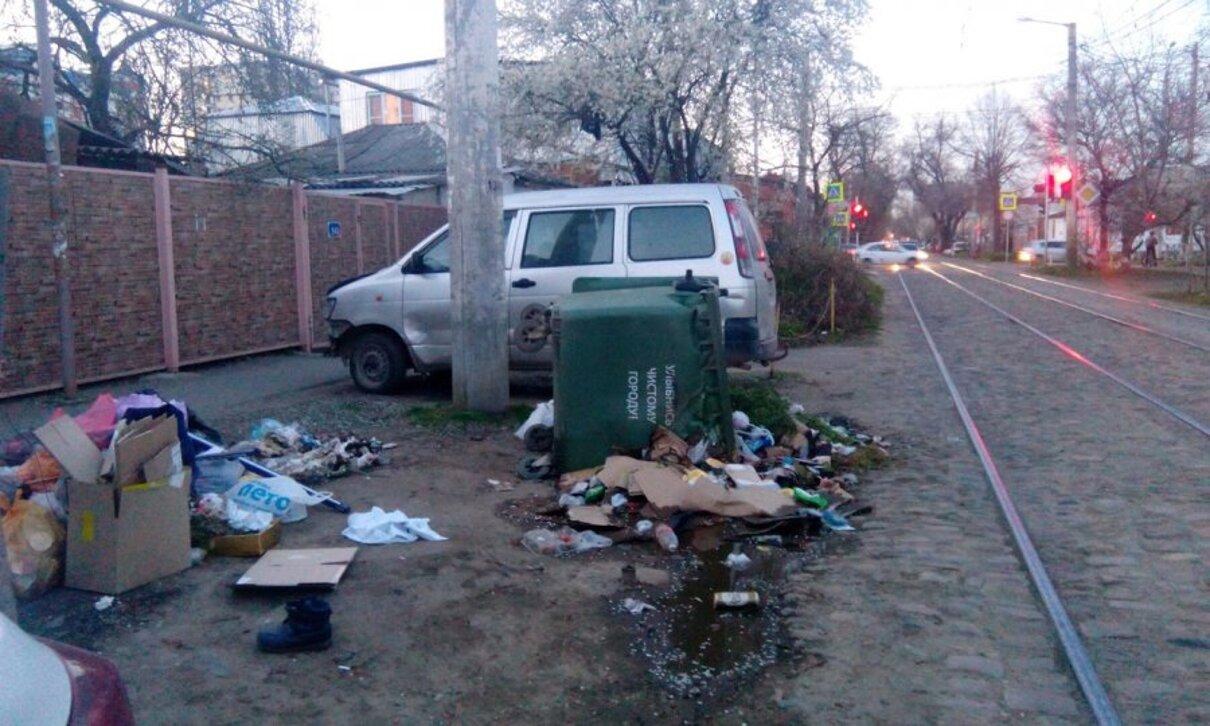 Жалоба-отзыв: Мусороуборочная компания Краснодара - Чистота в городе.  Фото №1