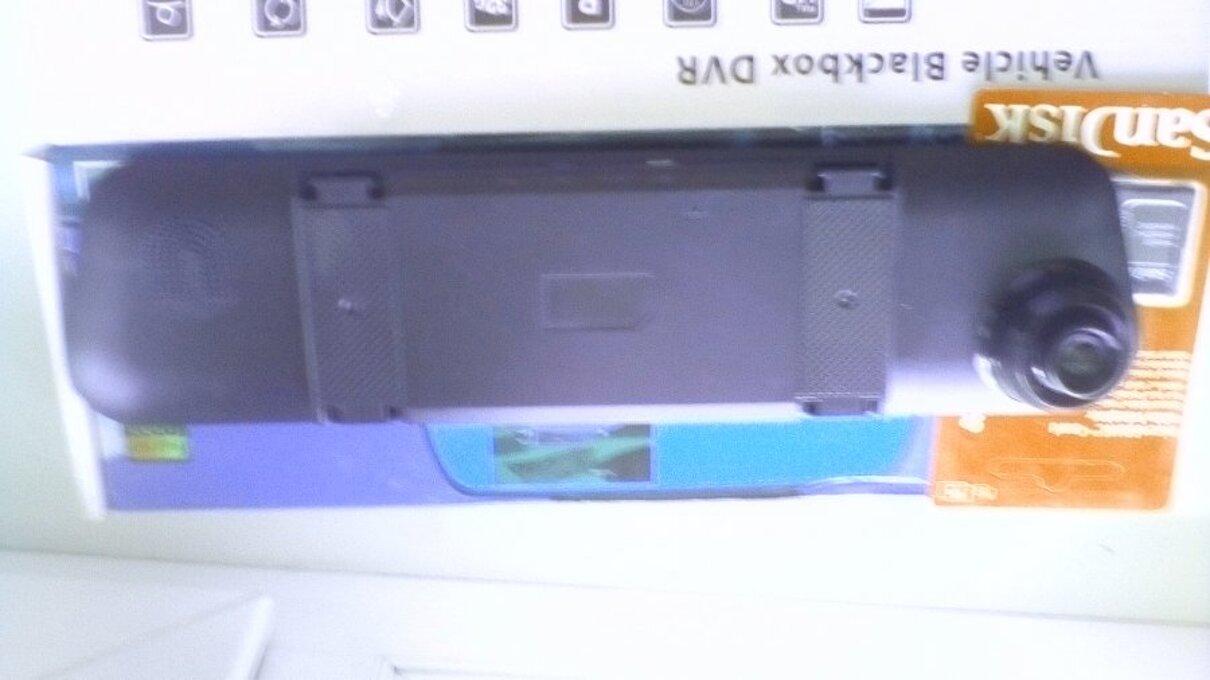 Жалоба-отзыв: Image description Зеркало авто компьютер в ультратонком корпусе + камера заднего вида «Fugicar FC8» - это самый передовой функционал среди конкурентов, программное ядро разработанное Японскими инженерами, наиболее востребованная операционная система Android 5.0 с русскоязычным интуитивно понятным интерфейсом, технология синхронного использования 2 камер «Dual cam». Все это в ультратонком корпусе, приятно дополняющем интерьер автомобиля любого класса. Видеорегистратор Радар-детектор Парковочная - Намеренная подмена товара.  Фото №2