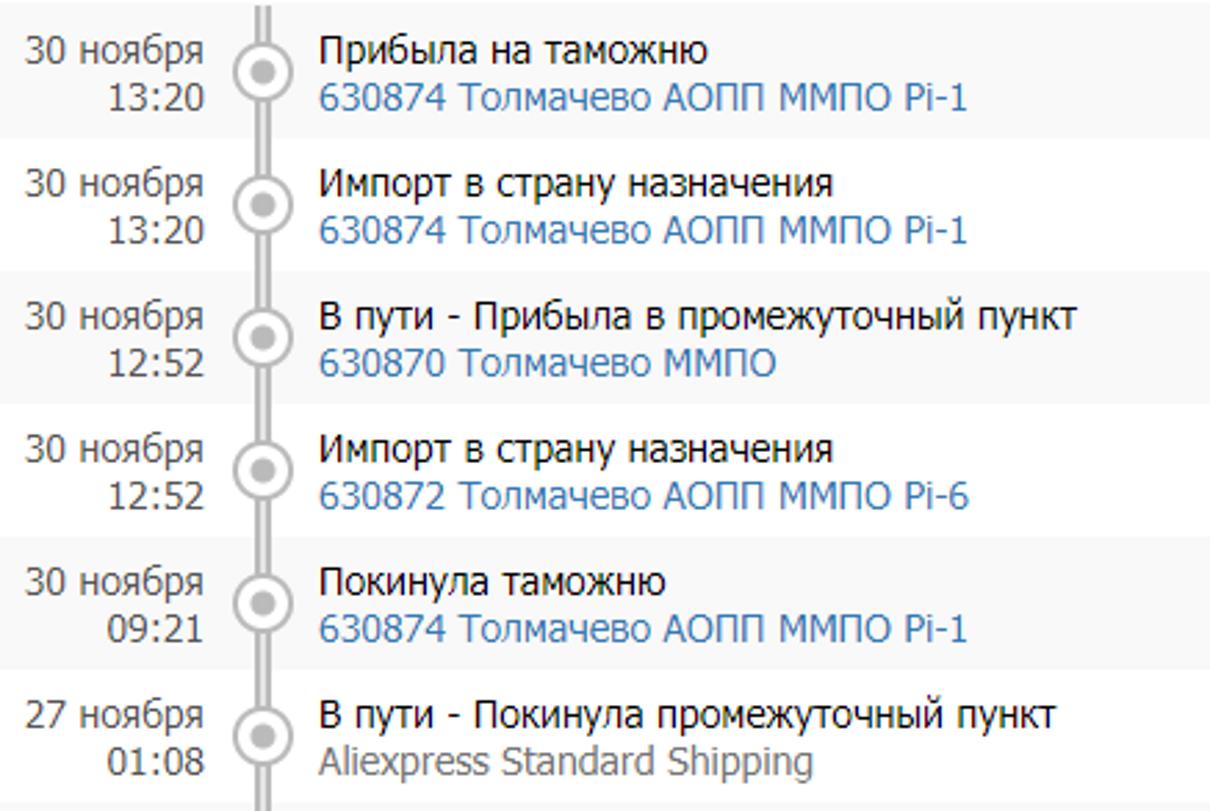 Жалоба-отзыв: Почта России - Замедление отправление