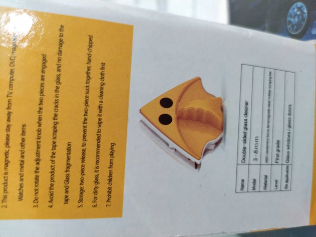 Жалоба-отзыв: ООО Инторг (ЕСПП 053471) - Щётка для мытья окон не соответствует заявленному.  Фото №4