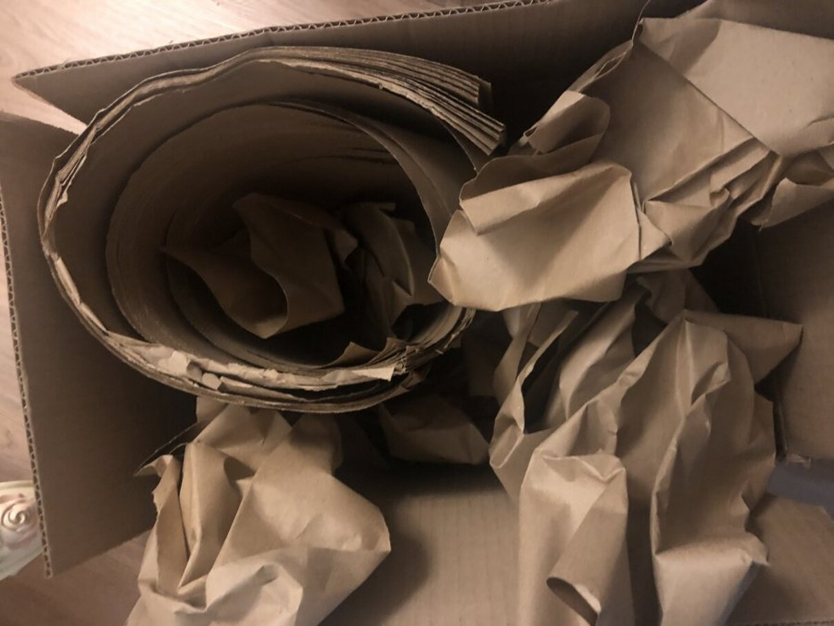 Жалоба-отзыв: ООО ВЕРОНА - Отправили коробку с клочком бумаги.  Фото №2