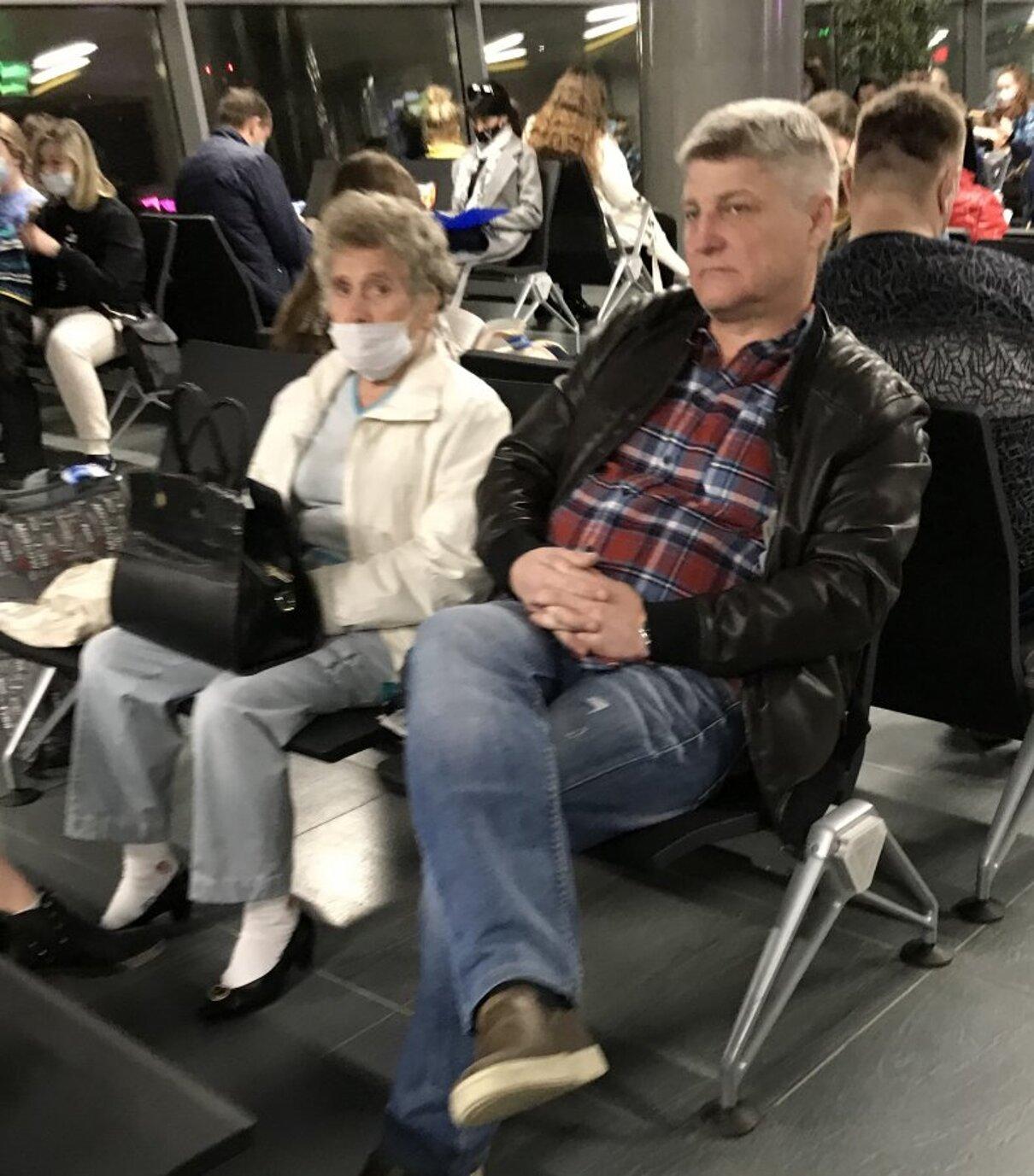 Жалоба-отзыв: Хам с аэропорта Перми 20.04.21 - Хам.  Фото №2