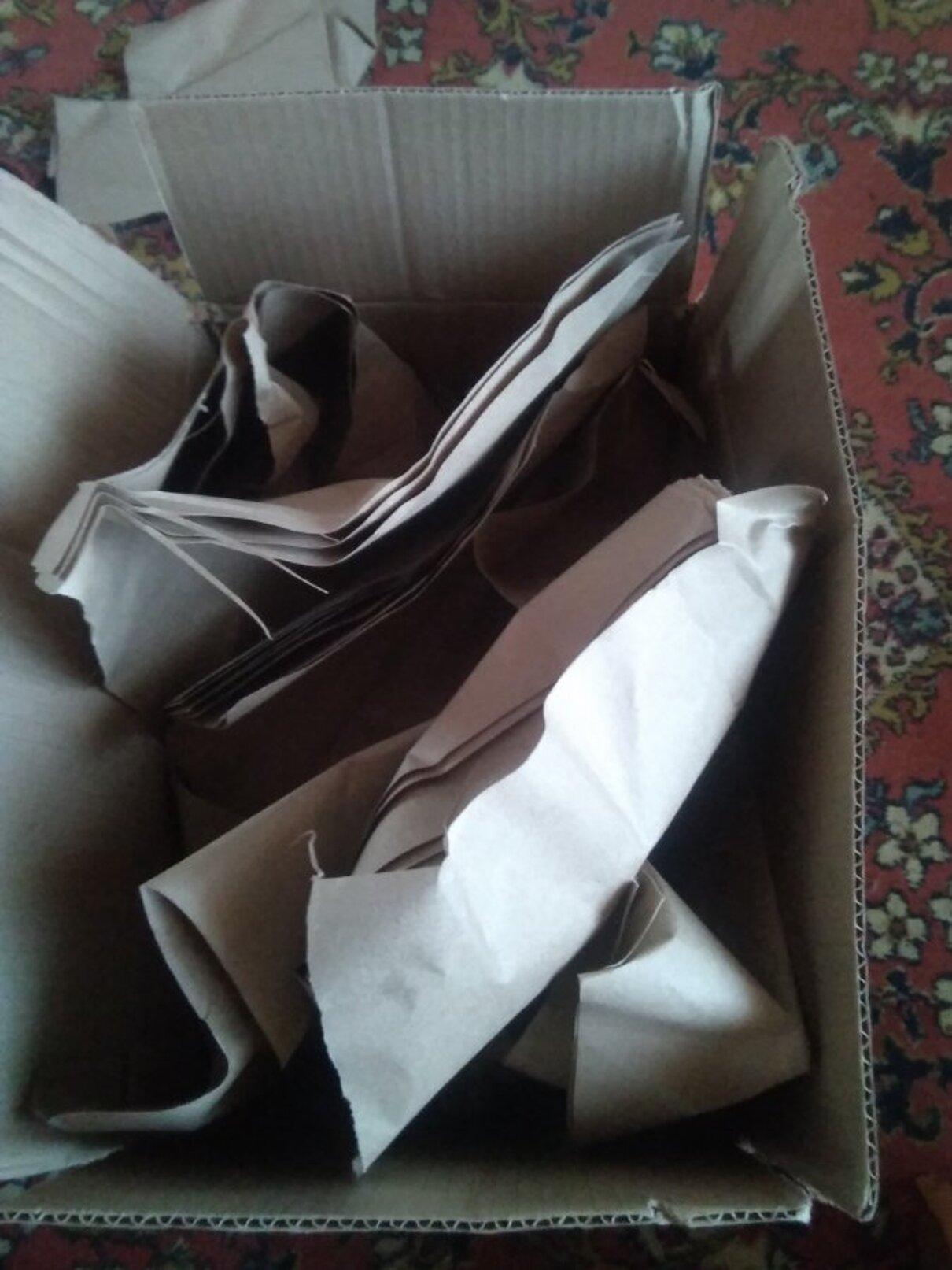 Жалоба-отзыв: Http://sale24shops.ru - Полная коробка бумаги.  Фото №1