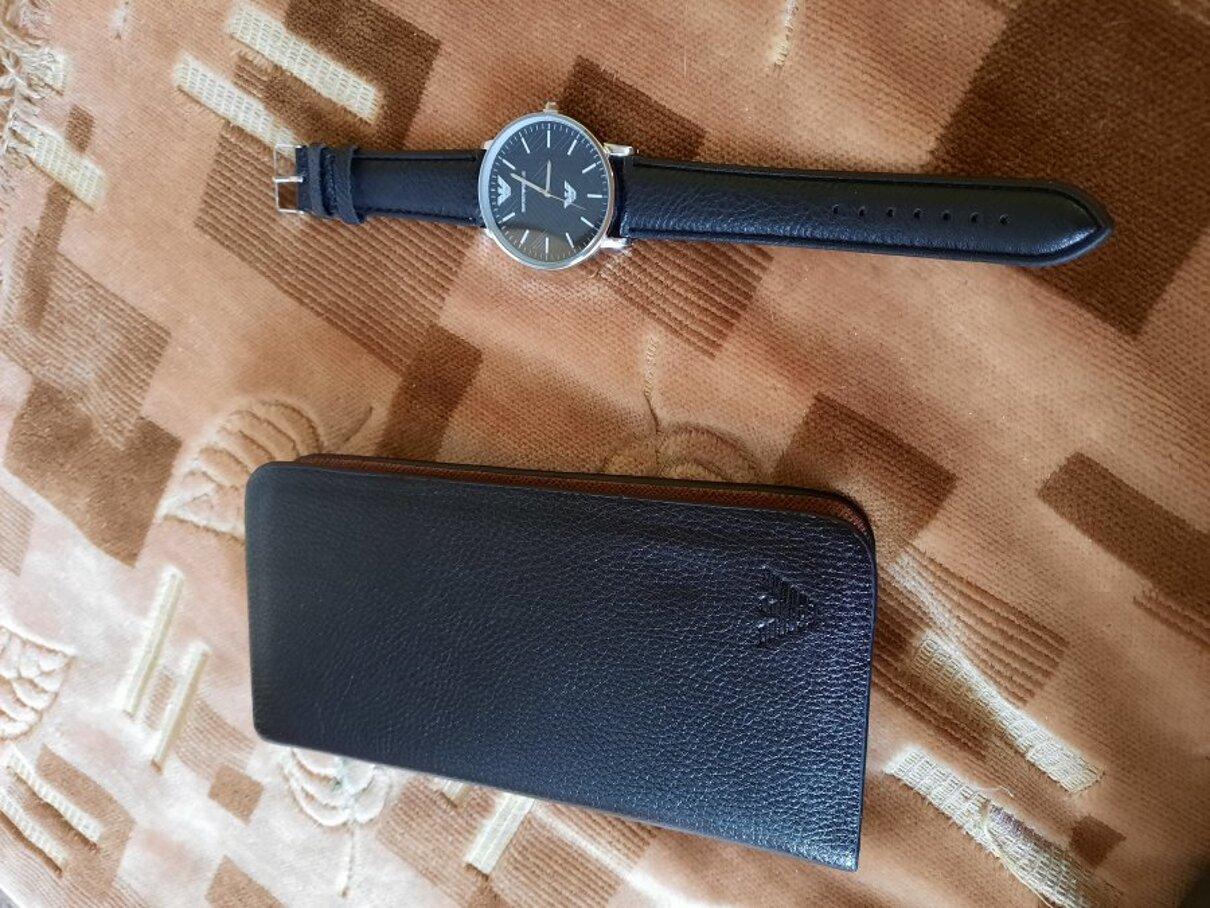 """Жалоба-отзыв: Ооо """"экспресс трейд""""(ооо экспресс трейд) 200961, Санкт-Петербург, А/Я 169. Часы Армани+Клатч в подарок - Не соответсвую тому что было на фото.  Фото №3"""